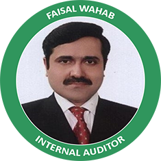 Internal Auditor - Faisal Wahab